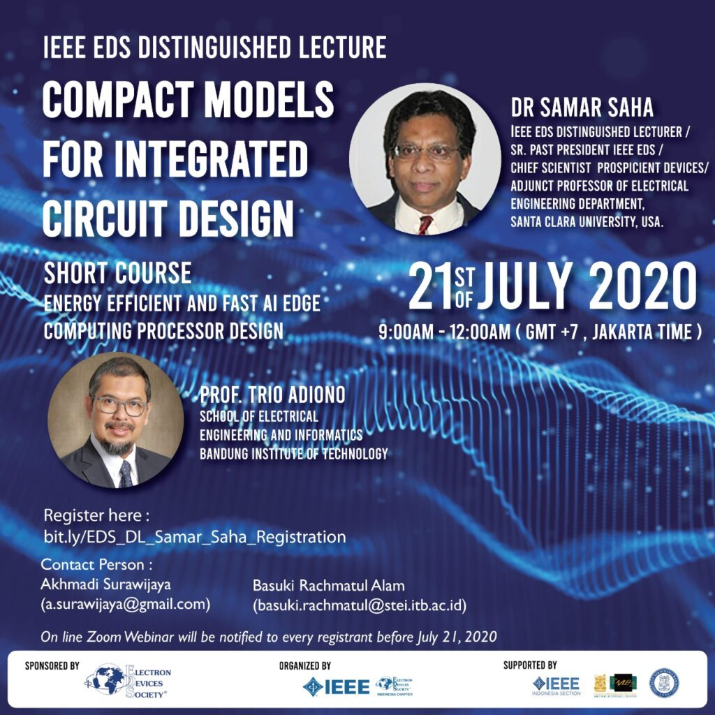 IEEE EDS Distinguished Lecture
